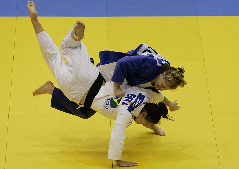 USA Judo – Kayla Harrison in Semi Finals at World