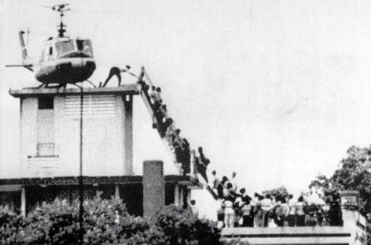 Hugh Van Es; photographed the fall of Saigon; 67 - The Boston Globe