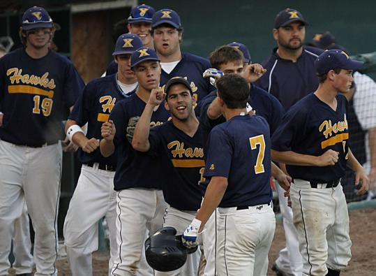 A four-run second inning had Xaverian's players in an early mood to celebrate.