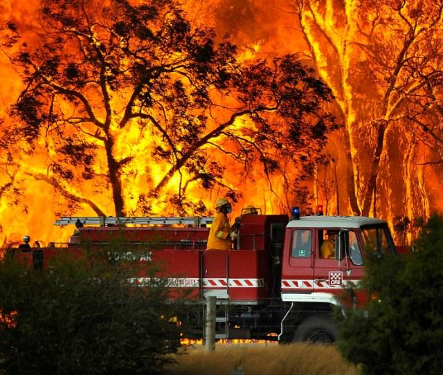 Bushfires In Victoria Australia