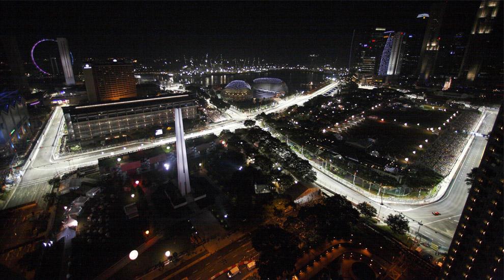 Gp singapore: scenari mozzafiato ma il circuito delude