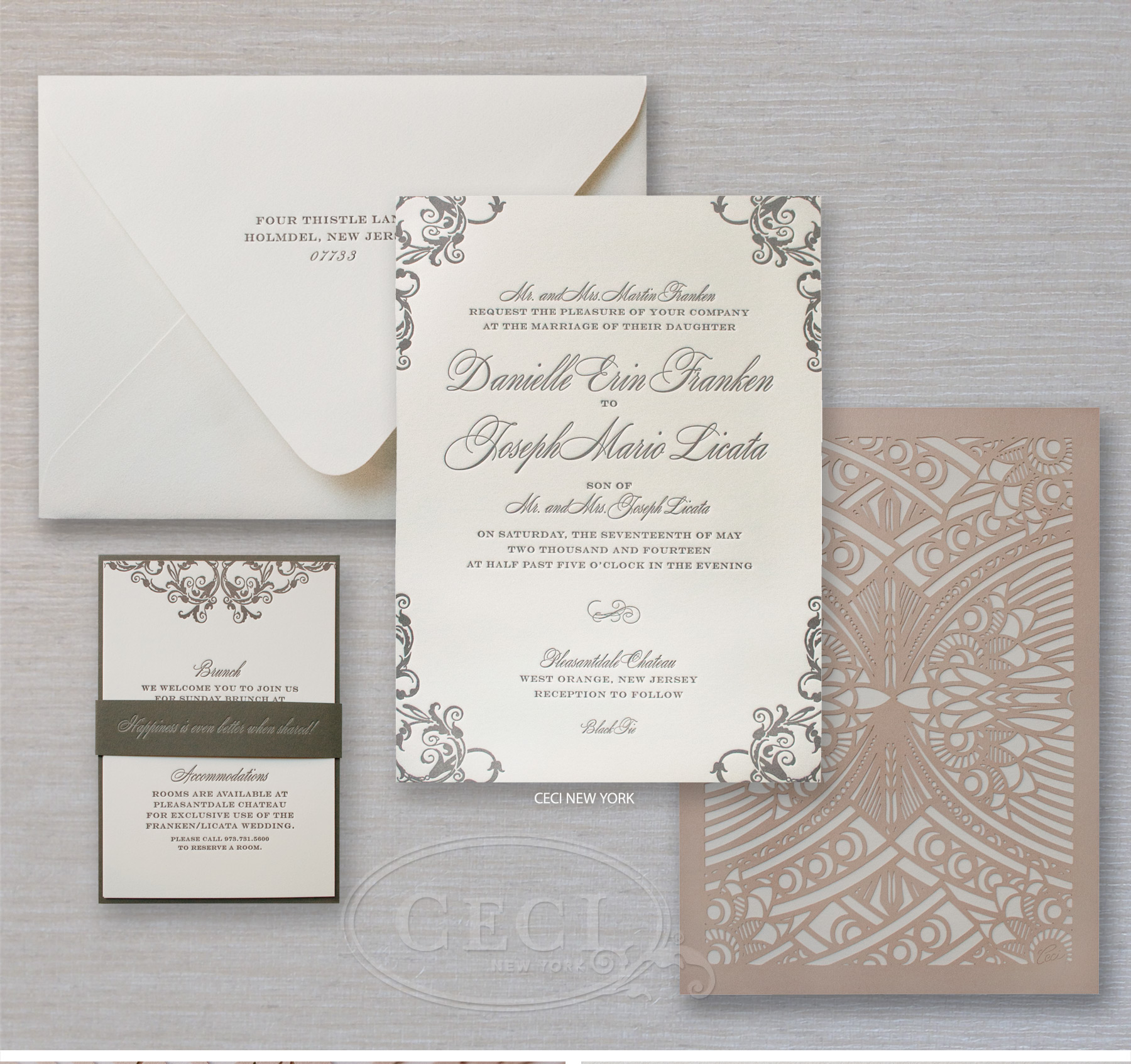 Ideas Bed Bath And Beyond Wedding Invitations wedding invitations new jersey skyline chateau in ceci york invitations