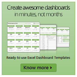 Create awesome Excel dashboards from your raw data in few minutes - Introducing Chandoo.org Dashboard Templates