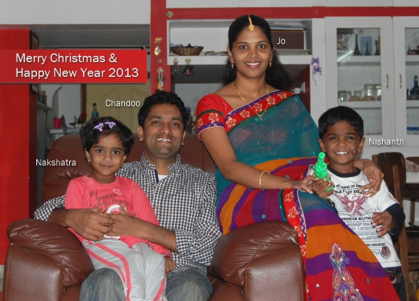 Merry Christmas & Happy New Year 2013 to all Chandoo.org readers & supporters