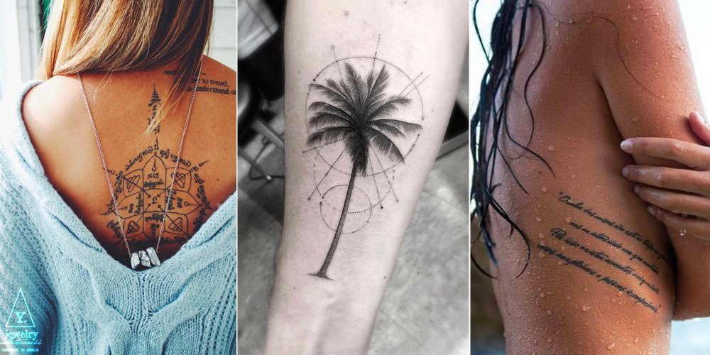 idees tatouage femme dos bras cotes