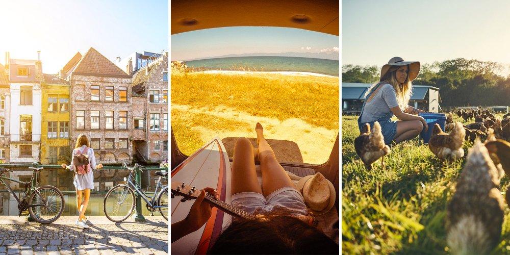 des idees originales et insolites pour partir en vacances et revenir avec des souvenirs magnifiques possible et comment faire du wwoofing de l ebike