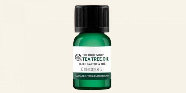 huile de tea tree the body shop