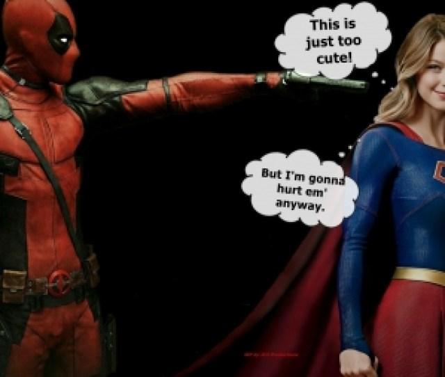 Deadpool Wallpaper Supergirl