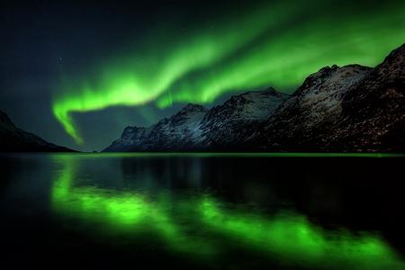 Neon Night Sky Amp Nature Background Wallpapers On Desktop