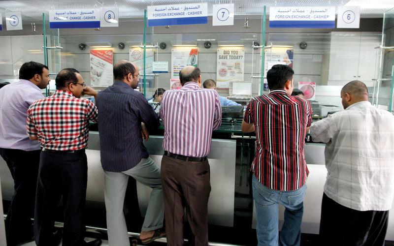 التحويلات المالية إلى عدد من دول العالم شهدت زيادة ملحوظة خلال شهر رمضان. تصوير: أشوك فيرما