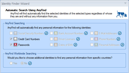 Identity Finder Searches Out All the Sensitive Data on Your Computer