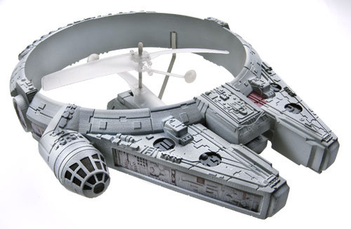 A Millenium Falcon that Actually Flies