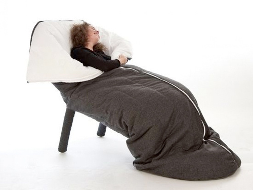 The Slanket Armchair, For Next-Level Warmth