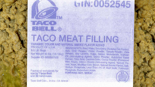 """This Is What Really Hides In Taco Bell's """"Beef"""""""