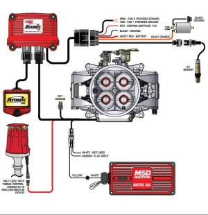 MSD Atomic EFI to distributor issue   Electrical  GMH
