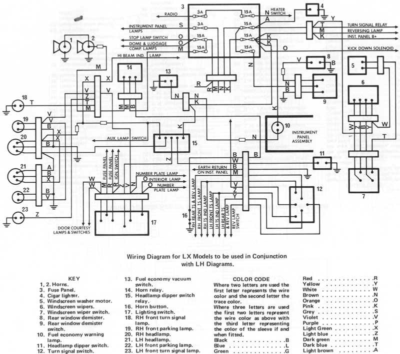 lxwiring?resize=665%2C589&ssl=1 lh torana dash wiring diagram the best wiring diagram 2017 lx torana wiring diagram at crackthecode.co