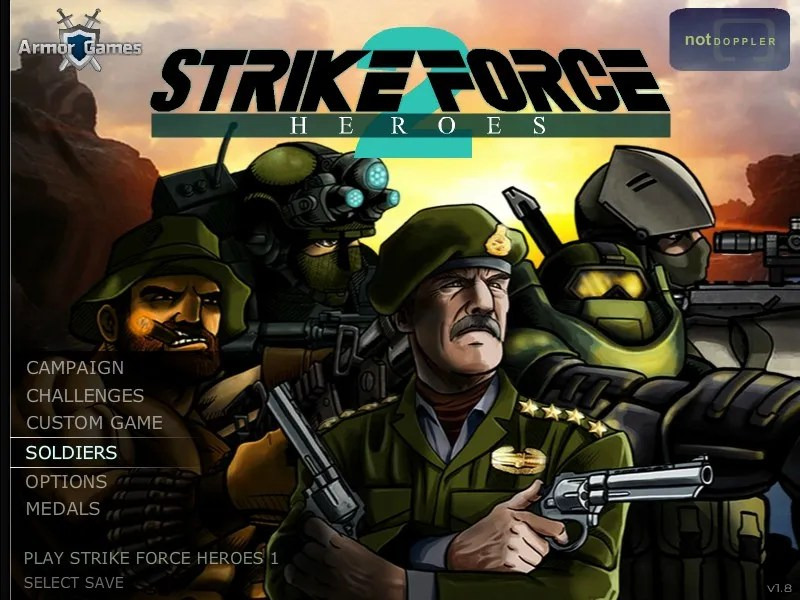 unblocked games strike force heroes 2 hacked | Wajigame co