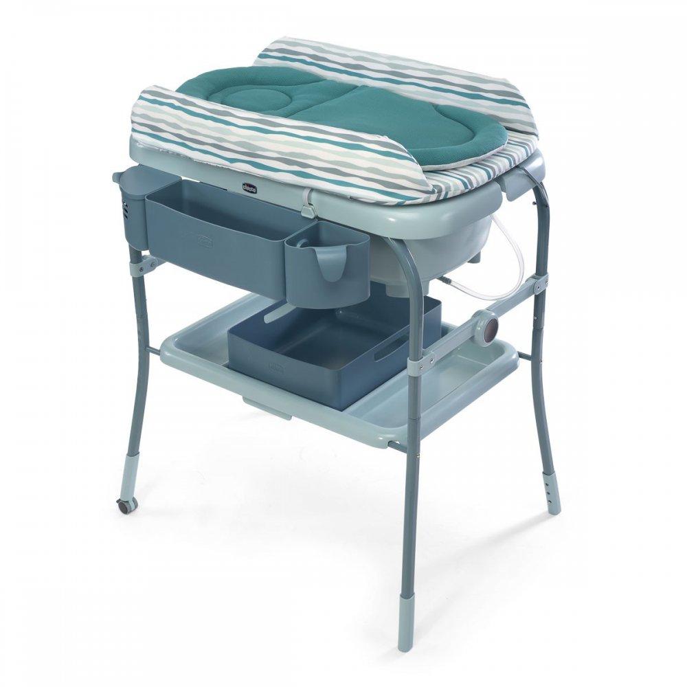 pourquoi acheter une table a langer avec baignoire integree pour gagner de la place au moment du bain et du change de bebe sans oublier la securite
