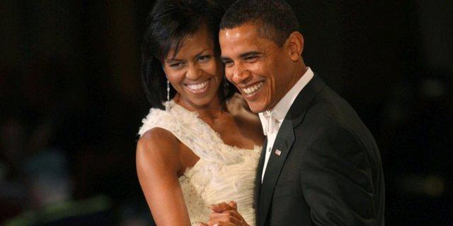 Michelle fait une tendre déclaration à Barack Obama à l'occasion de leurs 25 ans de mariage (photos)