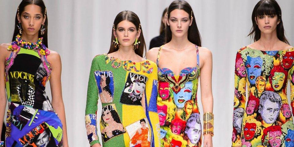 mode art versace - Tendances mode printemps/été 2019