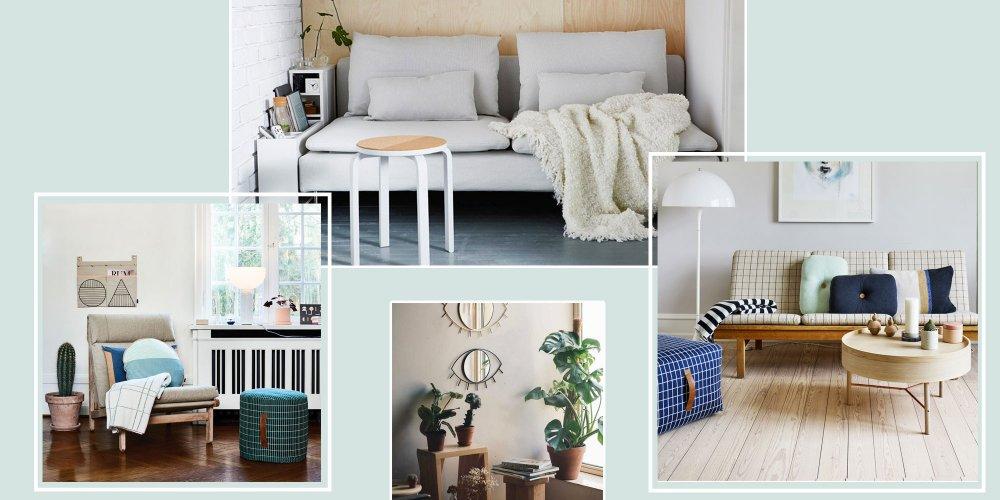 un petit salon est vite encombre pour l agrandir sans passer par la case travaux voici 6 astuces deco pour creer une illusion d espace