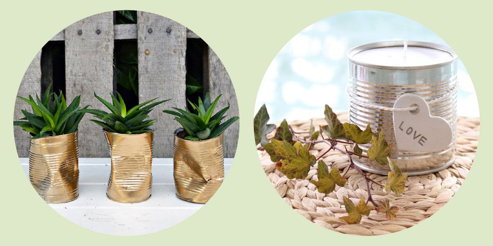 DIY Rcup Recycler Ses Boites De Conserves Marie Claire