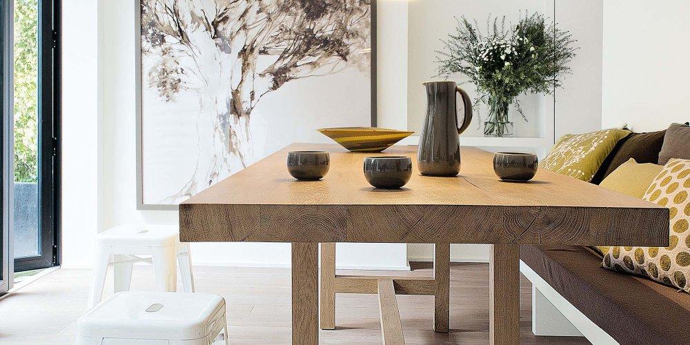 salle a manger table en bois