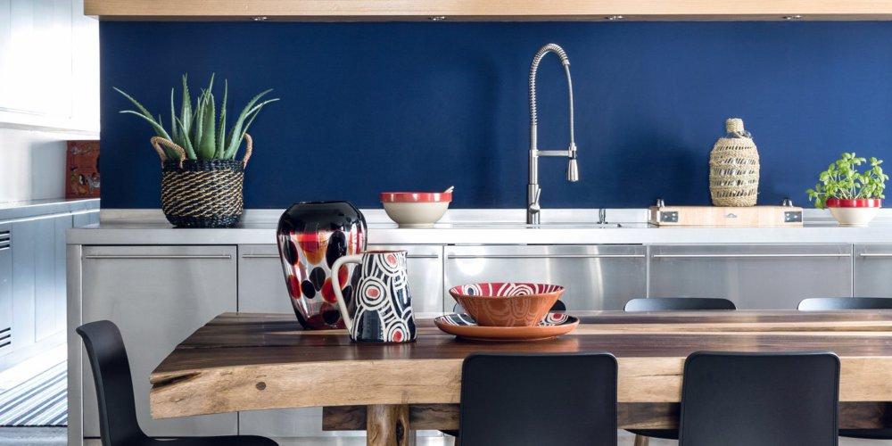 cuisine bleue marie claire