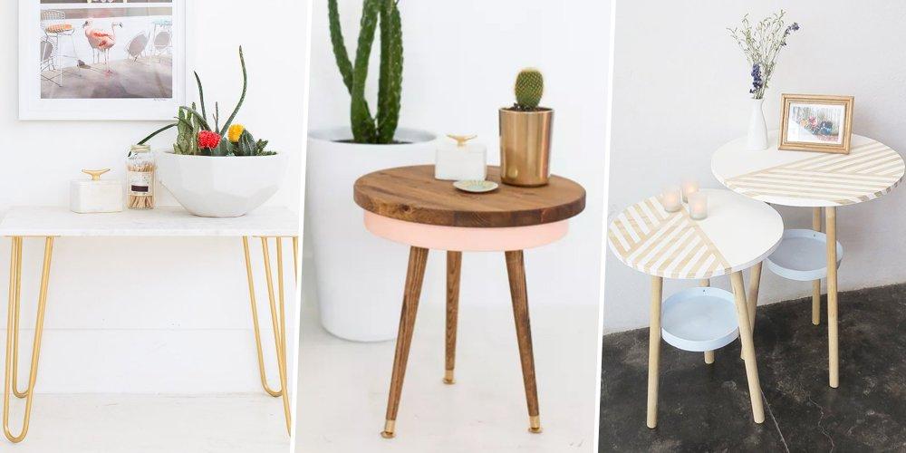 11 DIY Pour Fabriquer Une Table Basse Marie Claire