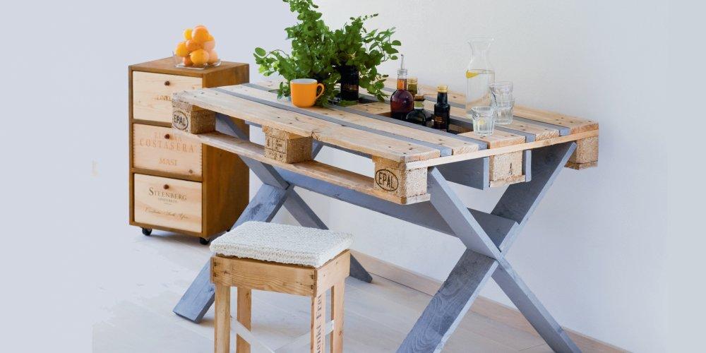 diy table palette en bois marie claire