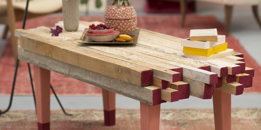 30 idees pour fabriquer une table basse