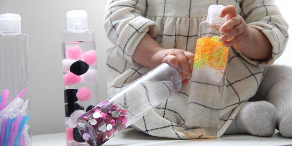 bouteille sensorielle le jouet
