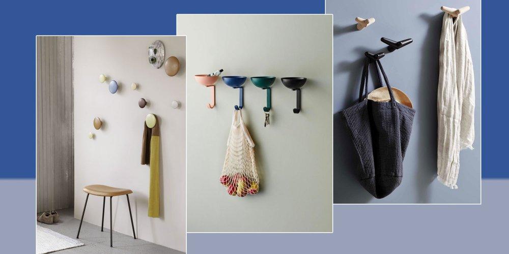 Patere Deco 15 Modeles Pour Embellir Son Mur Marie Claire