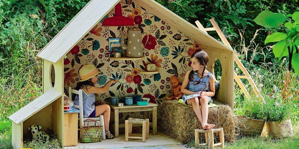 comment fabriquer une cabane de jardin