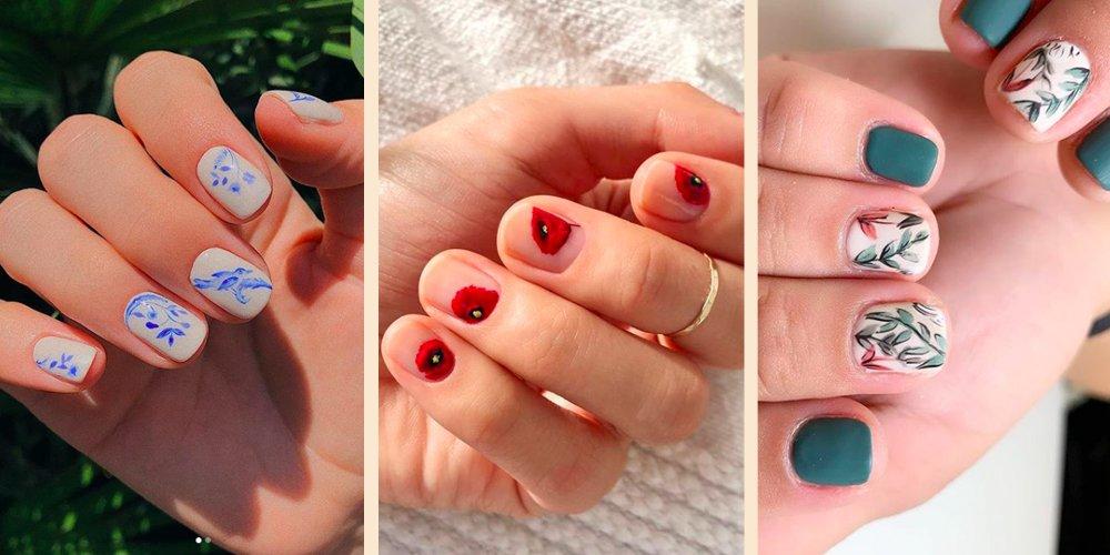 Comment Faire Un Nail Art Fleur Marie Claire