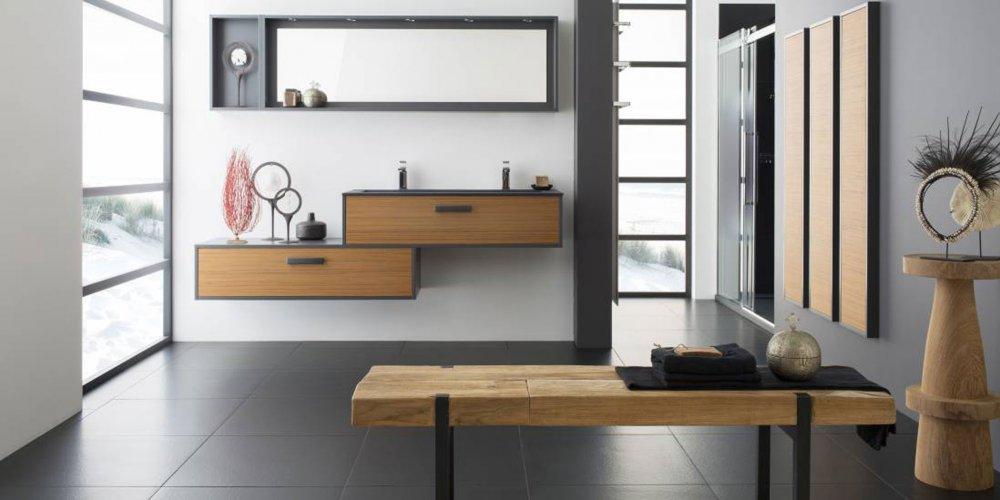 15 Meubles Double Vasque Pour Une Salle De Bains Familiale Marie Claire