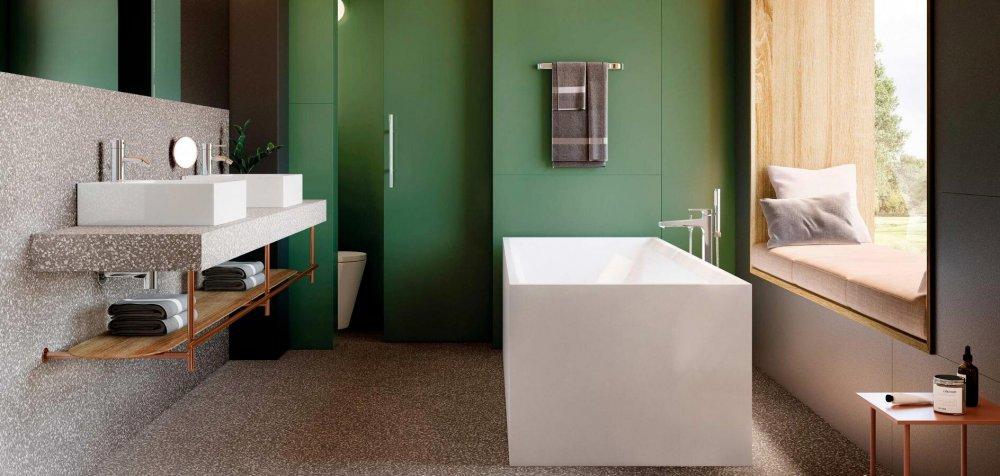 terrazzo dans la salle de bains 7