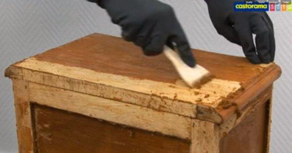 comment decaper un meuble en bois
