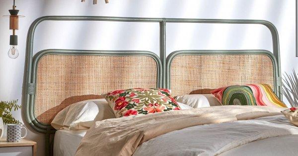 tete de lit rotin notre selection