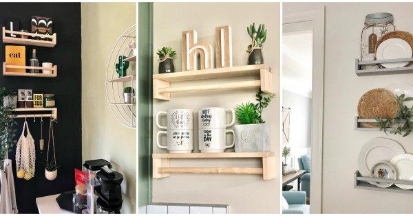 Ikea Hack 12 Idees Pour Customiser L Etagere A Epices Bekvam Marie Claire