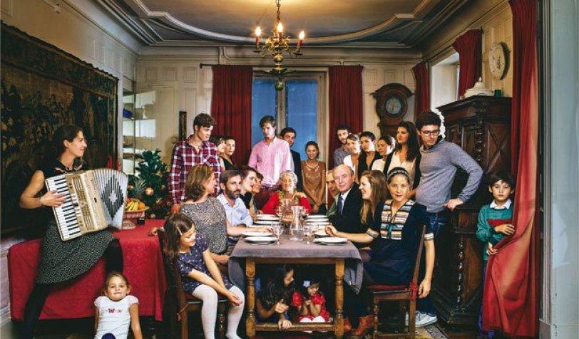 Un noël traditionnel en famille