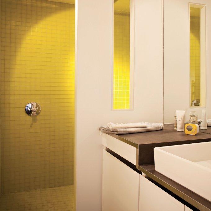 salle de bains jaune toutes nos