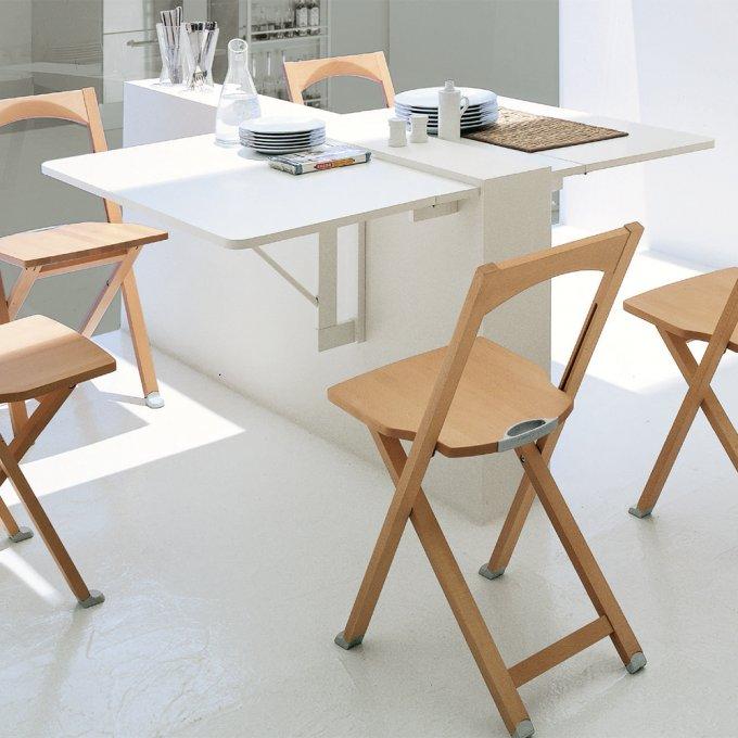 petite table pour une petite cuisine