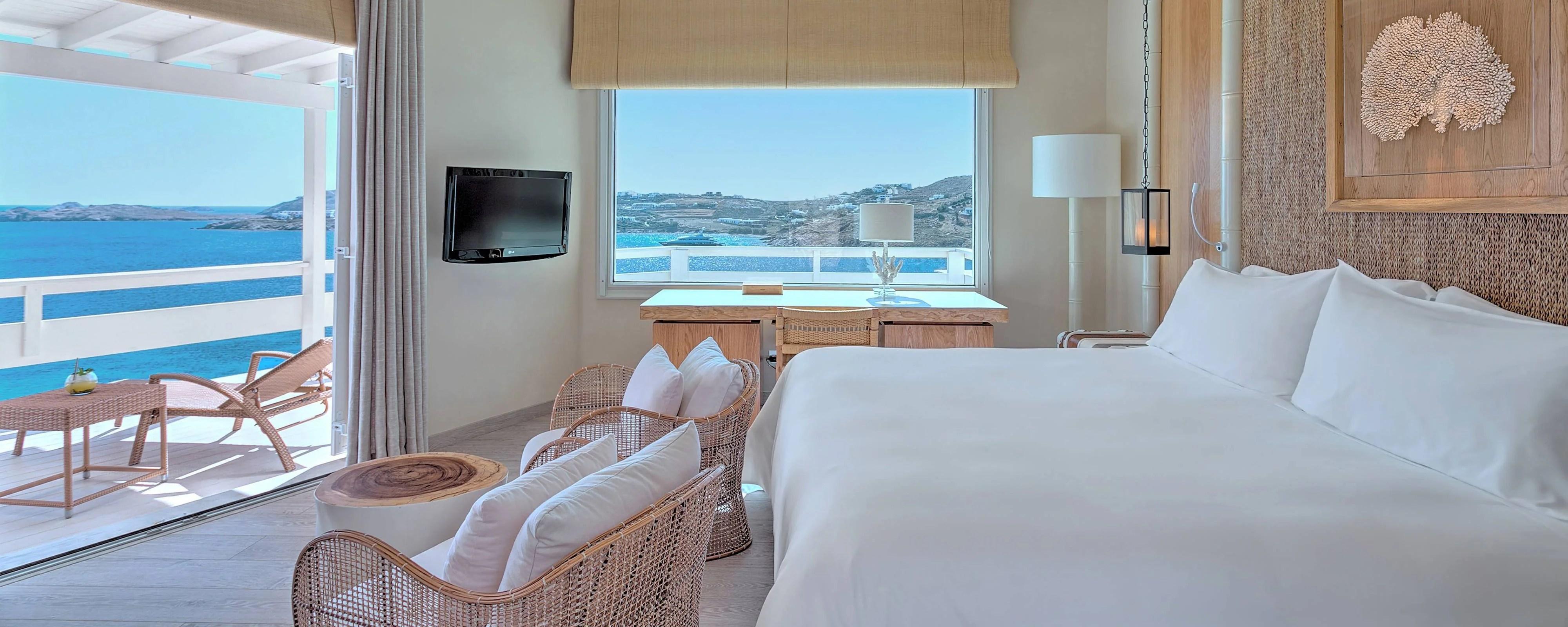 luxushotels in mykonos santa marina