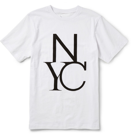 Saturdays Surf NYC NYC Printed Cotton-Jersey T-Shirt