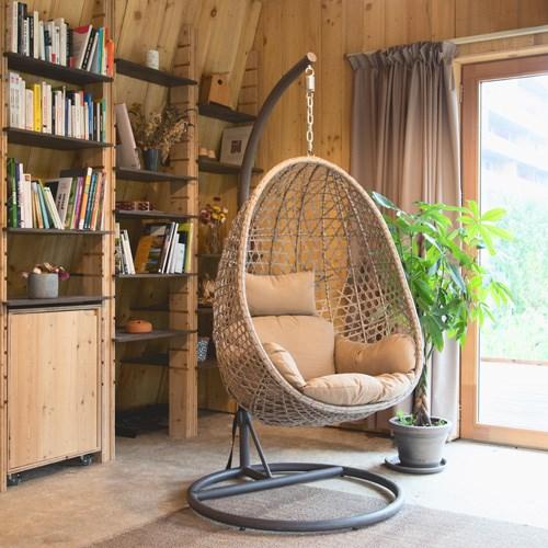 fauteuil suspendu avec support longchi