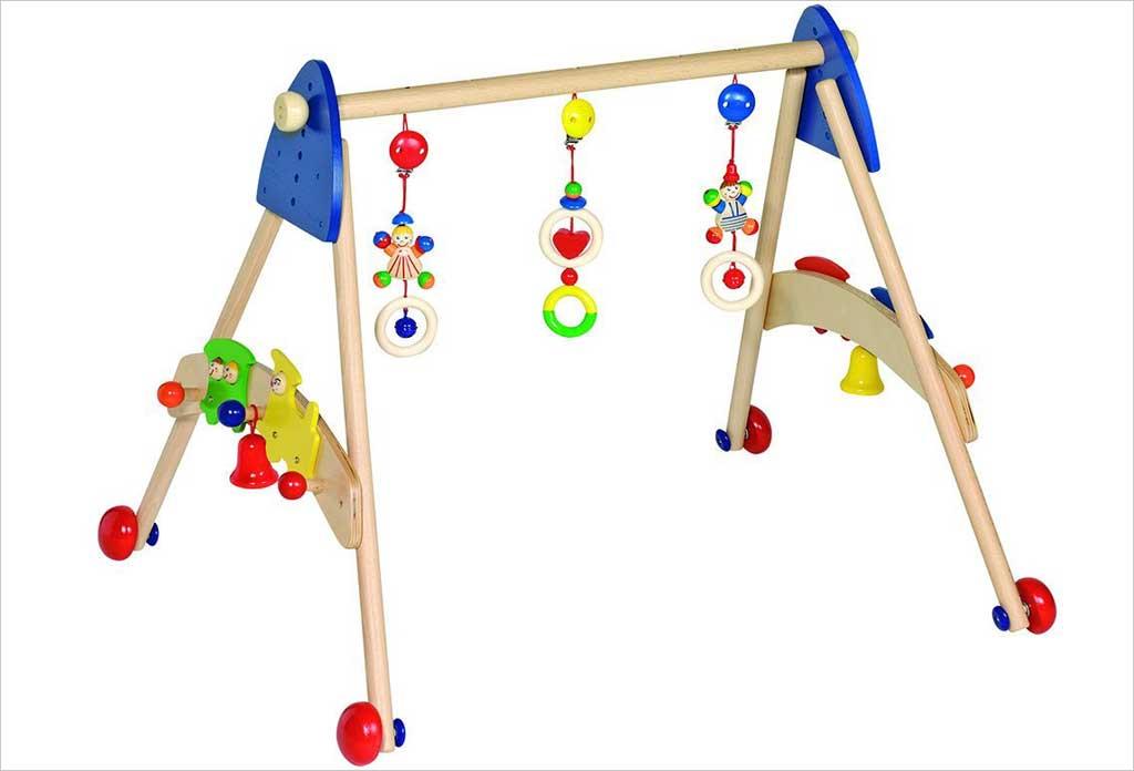 https www natureetdecouvertes com enfant jouets eveil tapis eveil arche portique d eveil 3 en 1 heimess 91190220