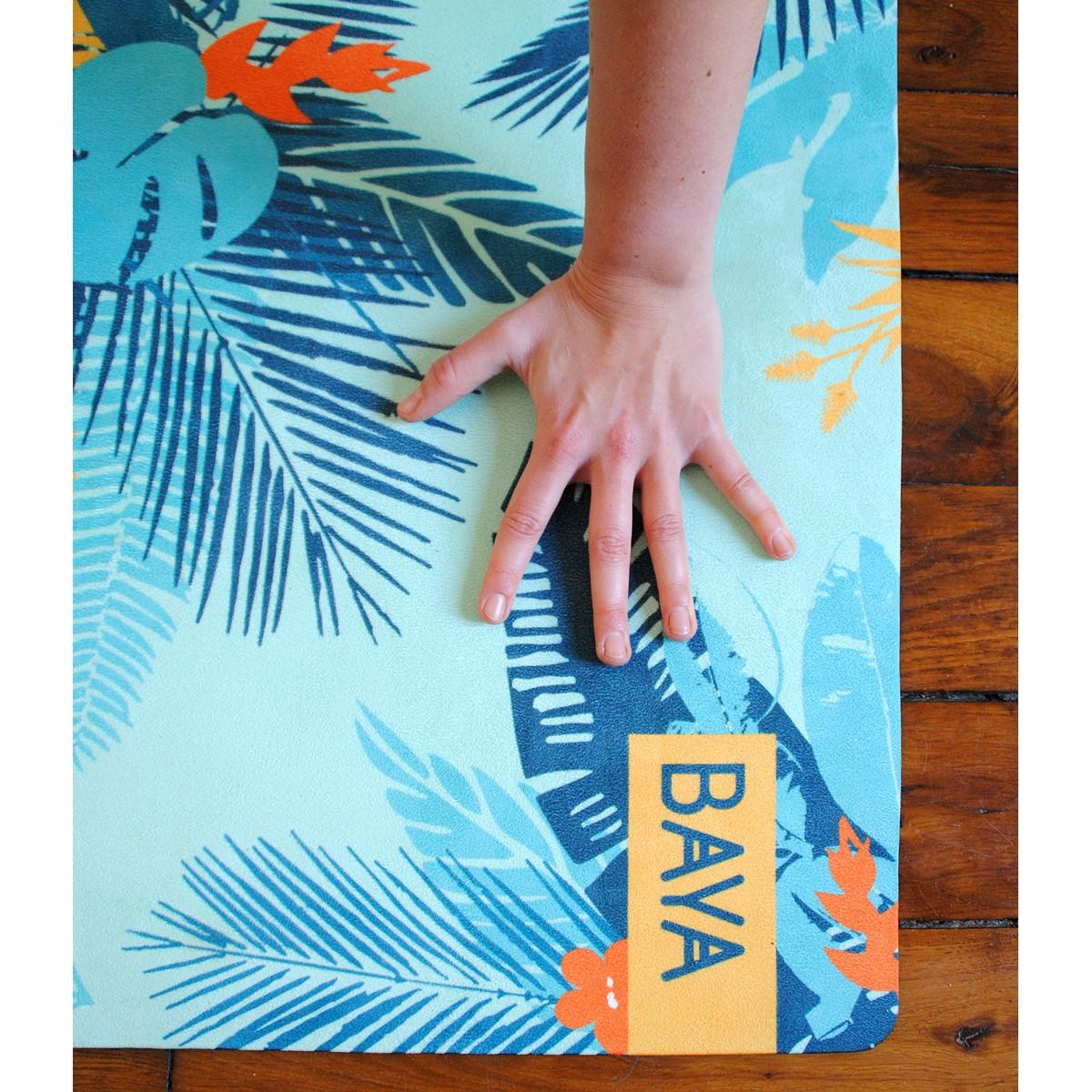 tapis de yoga intense rio nature