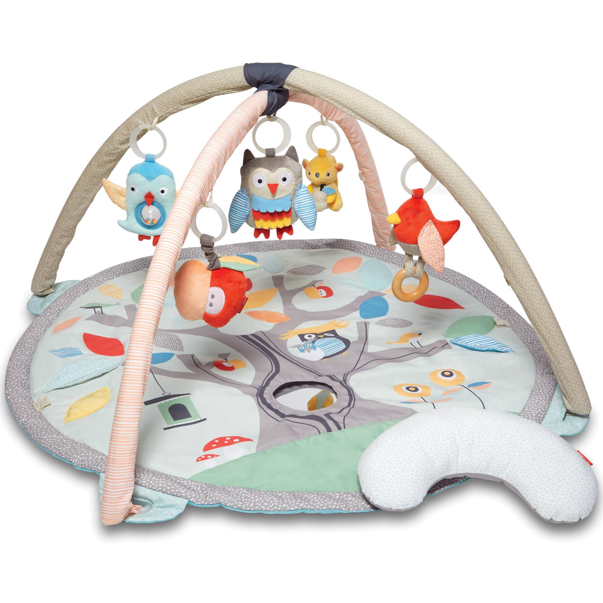 https www natureetdecouvertes com enfant jouets eveil tapis eveil arche tapis d eveil treetop pastel new 91774700