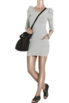 Sandro Riva striped jersey dress